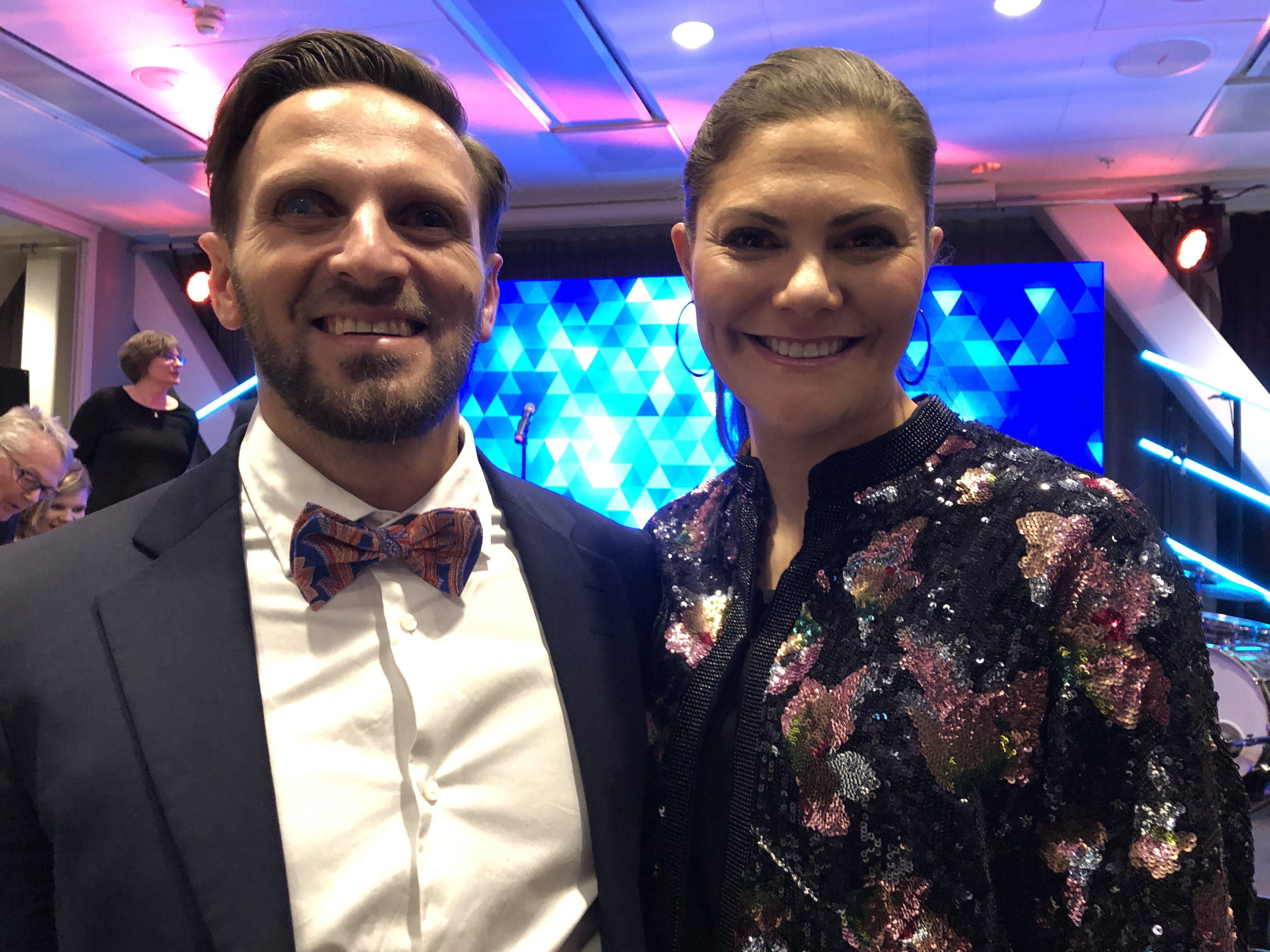 Fatmir och Kronprinsessan Victoria, Parasportgalan 2019